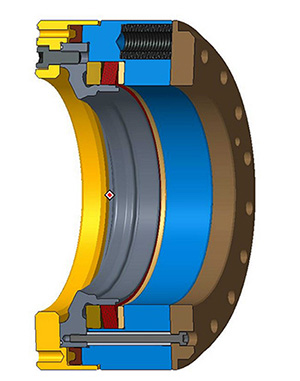 RINGSPANN clamping coupling
