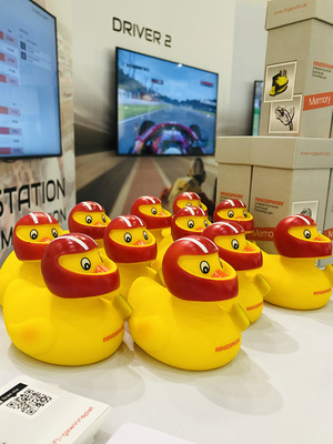 The RINGSPANN race duck